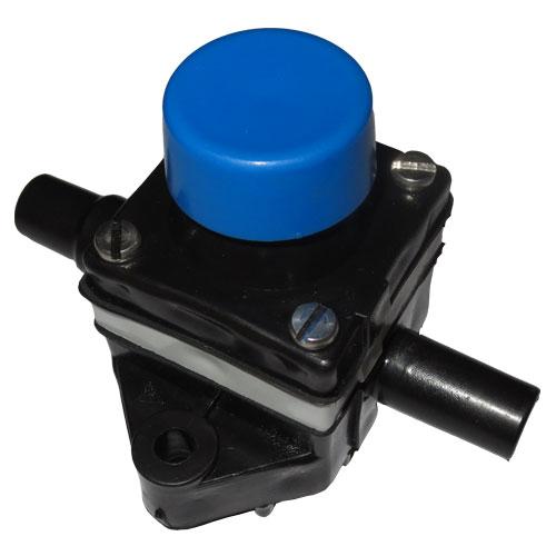 Кнопка дозатора синяя