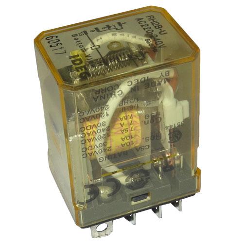 Электромагнитное реле 220V, 2xNO/NC