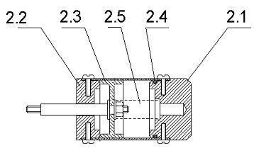 Поршень PDF DK 50x8x20/4